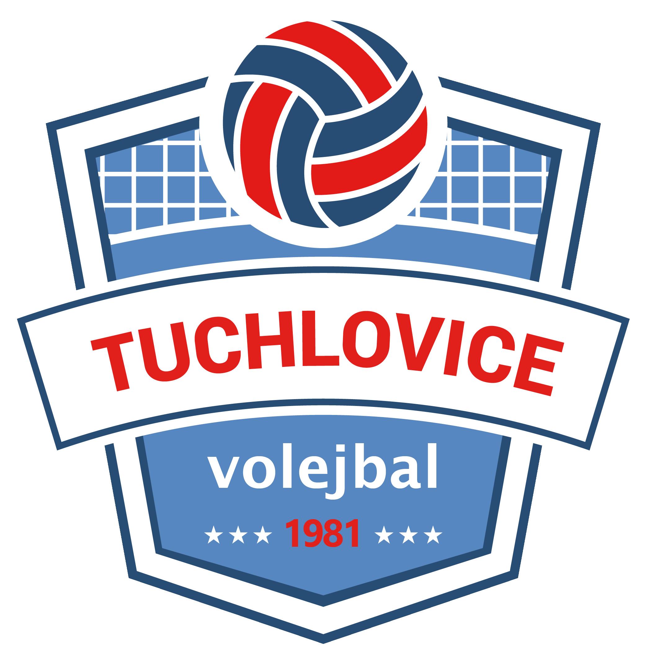 Logo volejbalového klubu Tuchlovice